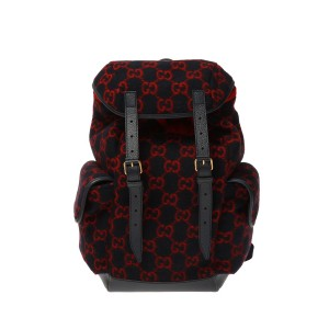 Dolce & Gabbana Womens Wool backpack with logo Clearance VXLVW7MQHT